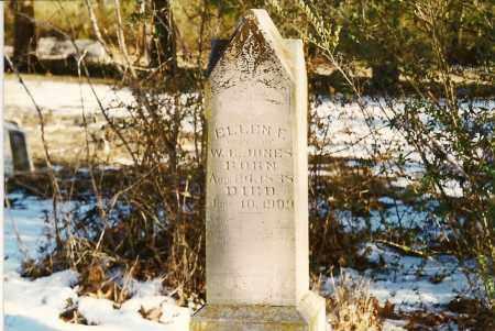 GRIFFIN JONES, ELLEN FRANCES - Stone County, Arkansas | ELLEN FRANCES GRIFFIN JONES - Arkansas Gravestone Photos