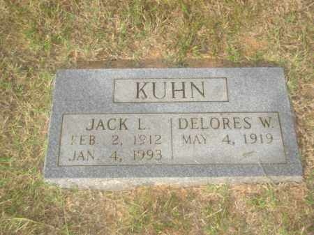 KUHN, JACK L. - Stone County, Arkansas | JACK L. KUHN - Arkansas Gravestone Photos