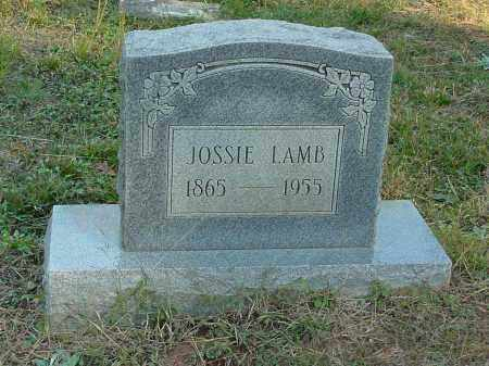 LAMB, JOSSIE - Stone County, Arkansas | JOSSIE LAMB - Arkansas Gravestone Photos
