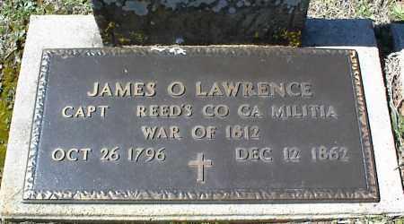 LAWRENCE (VETERAN 1812), JAMES O. - Stone County, Arkansas | JAMES O. LAWRENCE (VETERAN 1812) - Arkansas Gravestone Photos
