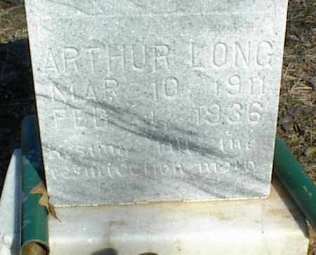 LONG, ARTHUR - Stone County, Arkansas | ARTHUR LONG - Arkansas Gravestone Photos