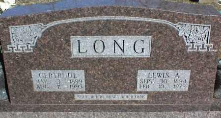 LONG, GERTRUDE - Stone County, Arkansas | GERTRUDE LONG - Arkansas Gravestone Photos