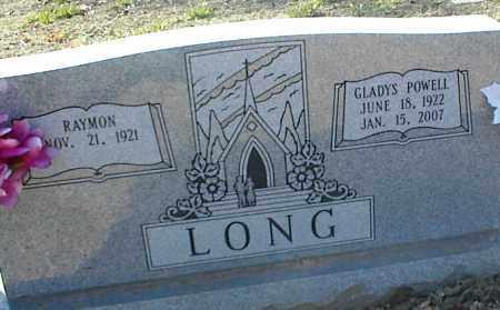 LONG, GLADYS - Stone County, Arkansas | GLADYS LONG - Arkansas Gravestone Photos