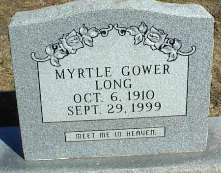 LONG, MYRTLE - Stone County, Arkansas | MYRTLE LONG - Arkansas Gravestone Photos