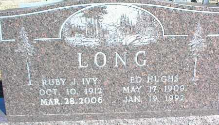 LONG, ED HUGHS - Stone County, Arkansas | ED HUGHS LONG - Arkansas Gravestone Photos
