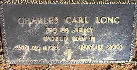 LONG (VETERAN WWII), CHARLES CARL - Stone County, Arkansas | CHARLES CARL LONG (VETERAN WWII) - Arkansas Gravestone Photos