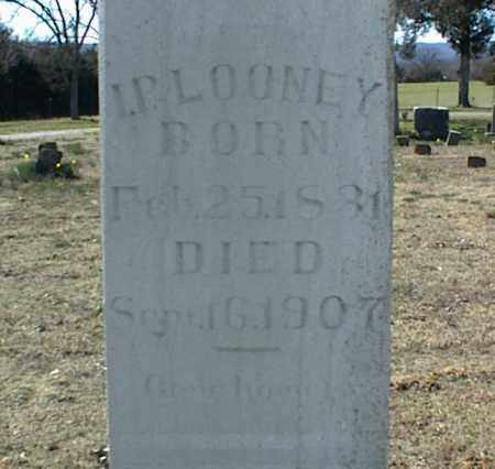 LOONEY, I. P. - Stone County, Arkansas | I. P. LOONEY - Arkansas Gravestone Photos