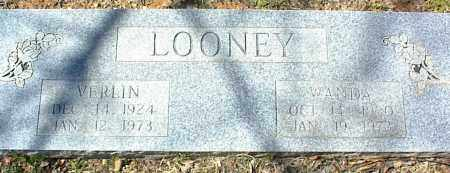 LOONEY, VERLIN - Stone County, Arkansas | VERLIN LOONEY - Arkansas Gravestone Photos