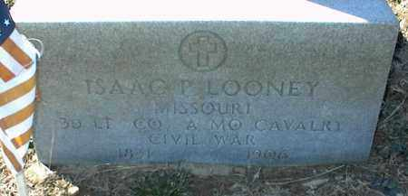 LOONEY (VETERAN), ISAAC P - Stone County, Arkansas | ISAAC P LOONEY (VETERAN) - Arkansas Gravestone Photos
