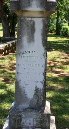 MABBY, FRANCES O - Stone County, Arkansas | FRANCES O MABBY - Arkansas Gravestone Photos