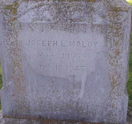 MALOY, JOSEPH L. - Stone County, Arkansas | JOSEPH L. MALOY - Arkansas Gravestone Photos