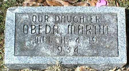 MARTIN, OBEDA - Stone County, Arkansas | OBEDA MARTIN - Arkansas Gravestone Photos
