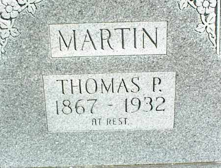 MARTIN, THOMAS P. - Stone County, Arkansas | THOMAS P. MARTIN - Arkansas Gravestone Photos
