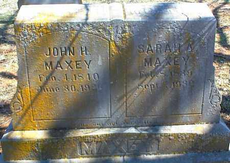 MAXEY, JOHN H. - Stone County, Arkansas | JOHN H. MAXEY - Arkansas Gravestone Photos