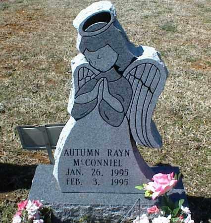 MCCONNIEL, AUTUMN RAYN - Stone County, Arkansas | AUTUMN RAYN MCCONNIEL - Arkansas Gravestone Photos