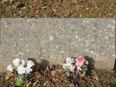 MCCOOK, ML - Stone County, Arkansas | ML MCCOOK - Arkansas Gravestone Photos