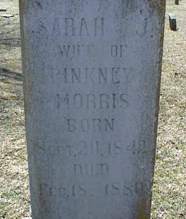 MORRIS, SARAH J. - Stone County, Arkansas | SARAH J. MORRIS - Arkansas Gravestone Photos