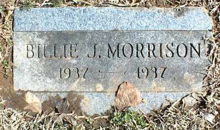 MORRISON, BILLIE J. - Stone County, Arkansas | BILLIE J. MORRISON - Arkansas Gravestone Photos