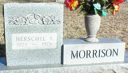 MORRISON, HERSCHEL A. - Stone County, Arkansas | HERSCHEL A. MORRISON - Arkansas Gravestone Photos
