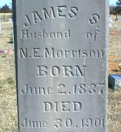 MORRISON, JAMES SABERT - Stone County, Arkansas | JAMES SABERT MORRISON - Arkansas Gravestone Photos