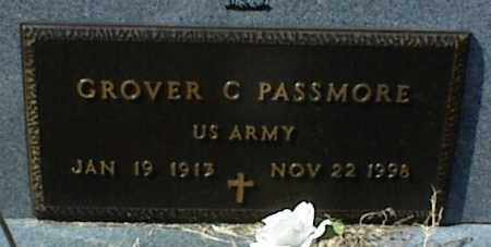 PASSMORE  (VETERAN), GROVER C - Stone County, Arkansas | GROVER C PASSMORE  (VETERAN) - Arkansas Gravestone Photos