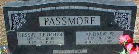 FLETCHER PASSMORE, DESSIE - Stone County, Arkansas | DESSIE FLETCHER PASSMORE - Arkansas Gravestone Photos