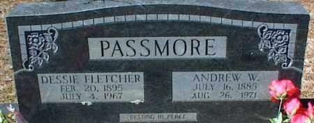PASSMORE, ANDREW W. - Stone County, Arkansas | ANDREW W. PASSMORE - Arkansas Gravestone Photos