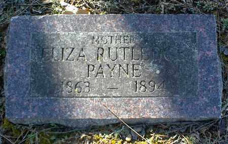 RUTLEDGE PAYNE, ELIZA - Stone County, Arkansas | ELIZA RUTLEDGE PAYNE - Arkansas Gravestone Photos