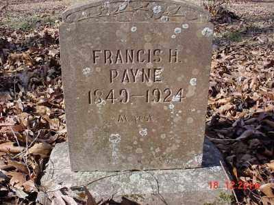 PAYNE, FRANCIS H. - Stone County, Arkansas | FRANCIS H. PAYNE - Arkansas Gravestone Photos