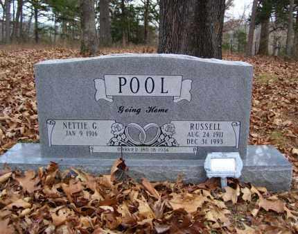 POOL, RUSSELL - Stone County, Arkansas | RUSSELL POOL - Arkansas Gravestone Photos