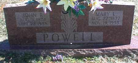 POWELL, JOHN R. - Stone County, Arkansas | JOHN R. POWELL - Arkansas Gravestone Photos
