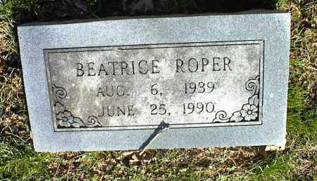 ROPER, BEATRICE - Stone County, Arkansas | BEATRICE ROPER - Arkansas Gravestone Photos