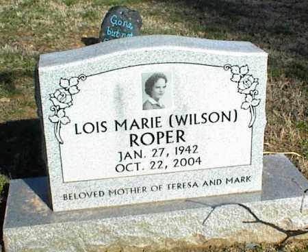WILSON ROPER, LOIS MARIE - Stone County, Arkansas | LOIS MARIE WILSON ROPER - Arkansas Gravestone Photos