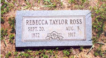 ROSS, REBECCA - Stone County, Arkansas | REBECCA ROSS - Arkansas Gravestone Photos
