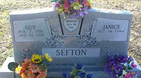 SEFTON, GUY - Stone County, Arkansas | GUY SEFTON - Arkansas Gravestone Photos