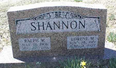 SHANNON, LORENE M. - Stone County, Arkansas | LORENE M. SHANNON - Arkansas Gravestone Photos