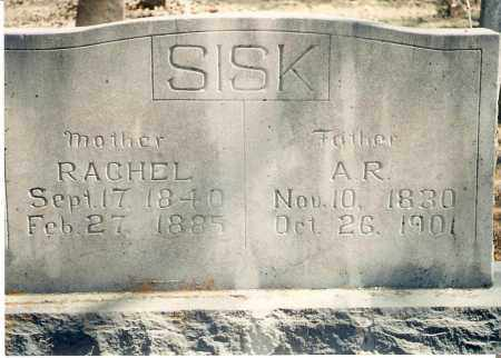 SISK, A RANKIN - Stone County, Arkansas | A RANKIN SISK - Arkansas Gravestone Photos