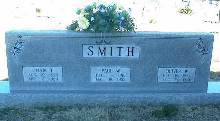 SMITH, OLIVER W. - Stone County, Arkansas | OLIVER W. SMITH - Arkansas Gravestone Photos