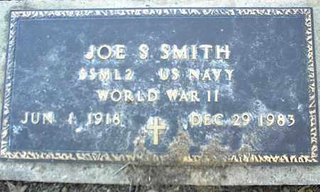 SMITH (VETERAN WWII), JOE S - Stone County, Arkansas | JOE S SMITH (VETERAN WWII) - Arkansas Gravestone Photos