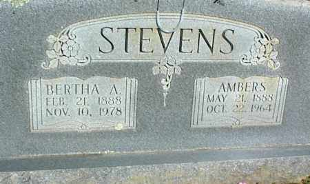 STEVENS, BERTHA A. - Stone County, Arkansas | BERTHA A. STEVENS - Arkansas Gravestone Photos