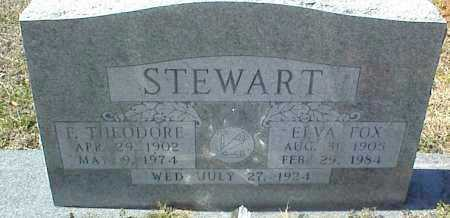 STEWART, ELVA - Stone County, Arkansas | ELVA STEWART - Arkansas Gravestone Photos