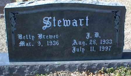 STEWART, J. B. - Stone County, Arkansas | J. B. STEWART - Arkansas Gravestone Photos