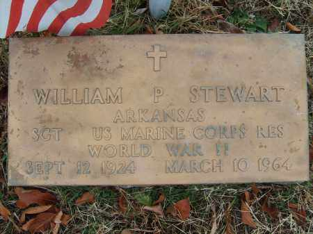STEWART (VETERAN WWII), WILLIAM P - Stone County, Arkansas   WILLIAM P STEWART (VETERAN WWII) - Arkansas Gravestone Photos