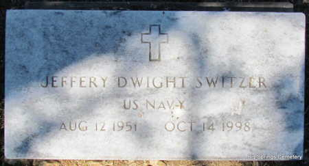 SWITZER (VETERAN), JEFFERY DWIGHT - Stone County, Arkansas | JEFFERY DWIGHT SWITZER (VETERAN) - Arkansas Gravestone Photos