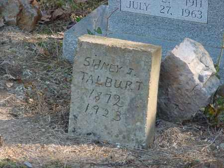 TALBURT, SIDNEY - Stone County, Arkansas | SIDNEY TALBURT - Arkansas Gravestone Photos