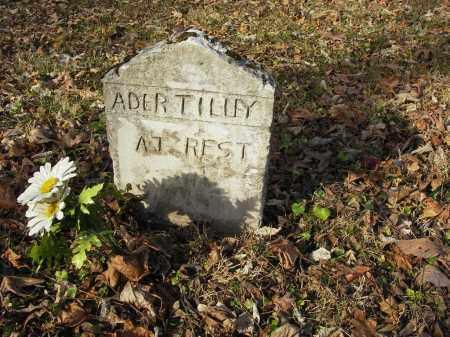 TILLEY, ADER - Stone County, Arkansas | ADER TILLEY - Arkansas Gravestone Photos