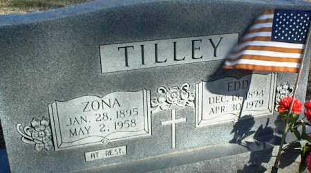 TILLEY, ZONA - Stone County, Arkansas | ZONA TILLEY - Arkansas Gravestone Photos