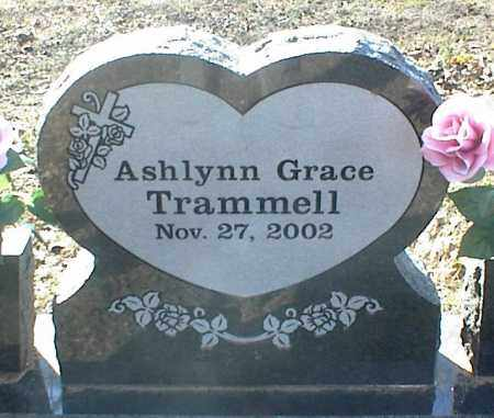 TRAMMELL, ASHLYNN GRACE - Stone County, Arkansas | ASHLYNN GRACE TRAMMELL - Arkansas Gravestone Photos