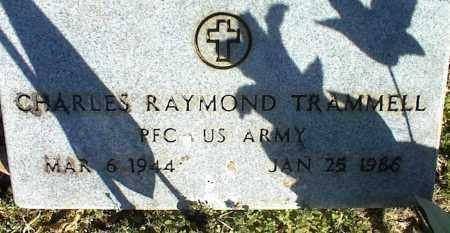 TRAMMELL (VETERAN), CHARLES RAYMOND - Stone County, Arkansas | CHARLES RAYMOND TRAMMELL (VETERAN) - Arkansas Gravestone Photos