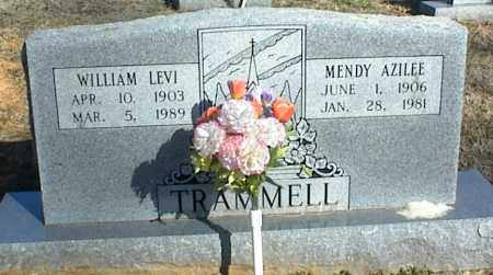TRAMMELL, WILLIAM LEVI - Stone County, Arkansas | WILLIAM LEVI TRAMMELL - Arkansas Gravestone Photos